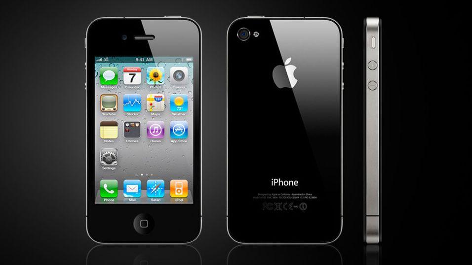 Her er nye iPhone 4