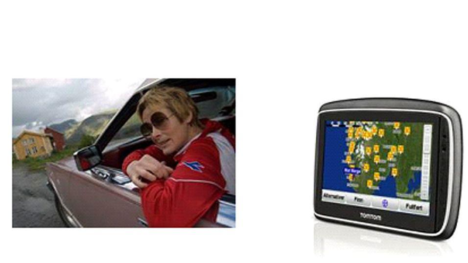 Linda Eide blir med deg på biltur