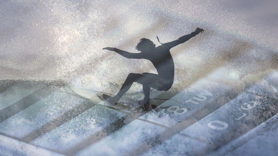 Surfer som aldri før