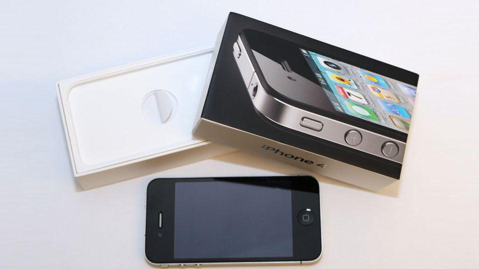 - Lik pris på iPhone 4