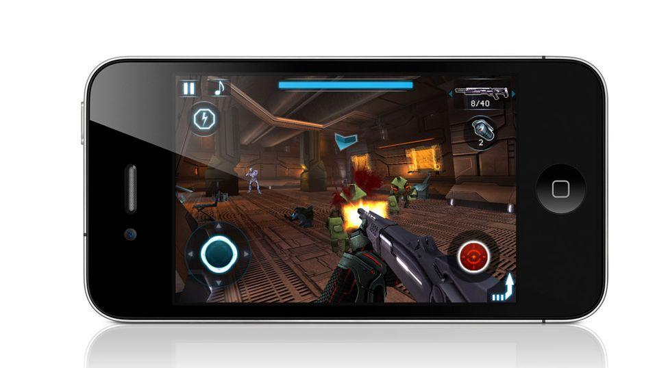 N.O.V.A til iPhone 4 lansert
