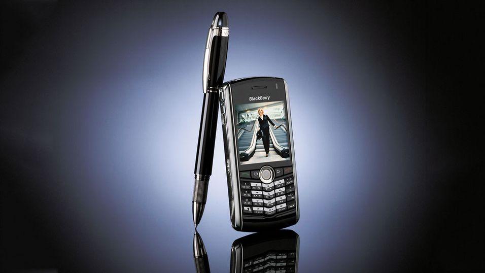 Er Blackberry ved stupet?