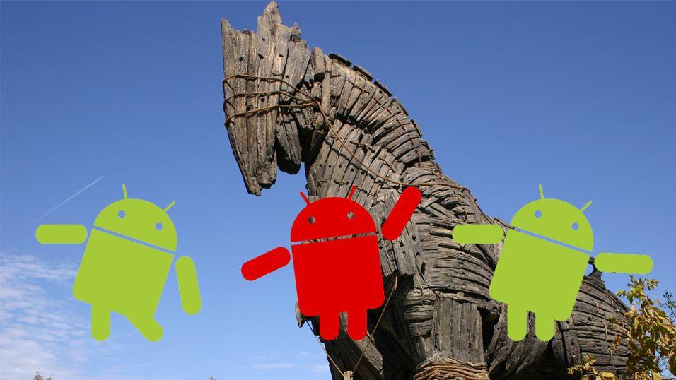 Android-virus kan blakke deg