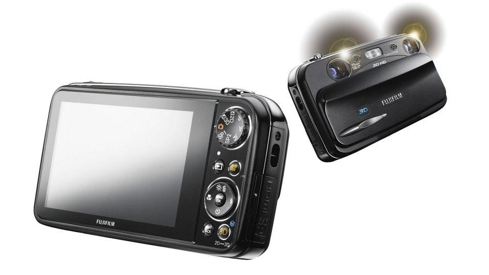 Brillefritt 3D-kamera