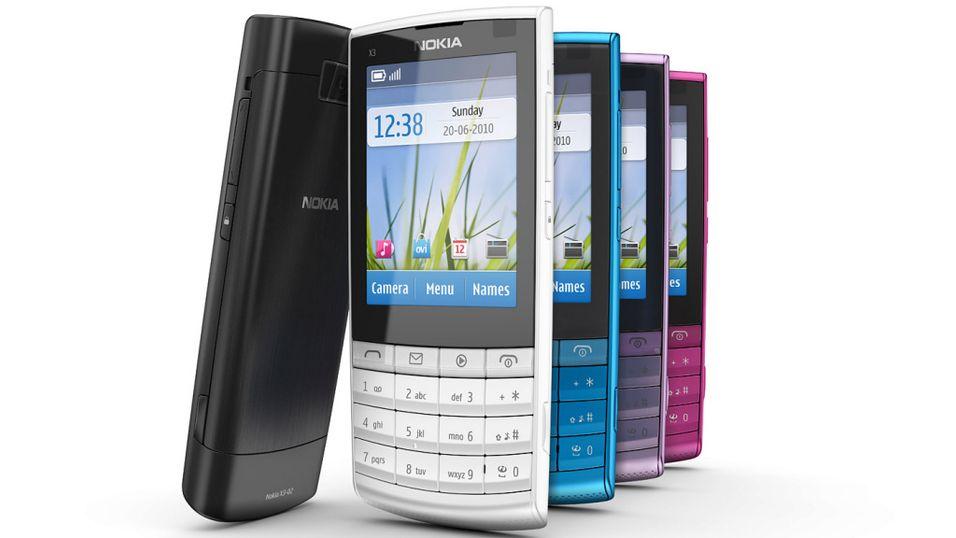 Nokia lanserer nye X3