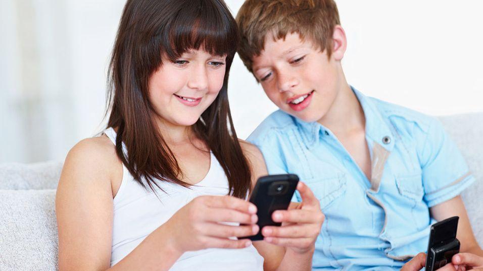 Får mobil til skolestart