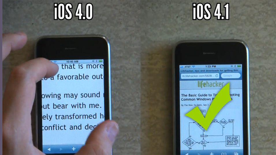 Se så rask iPhone blir