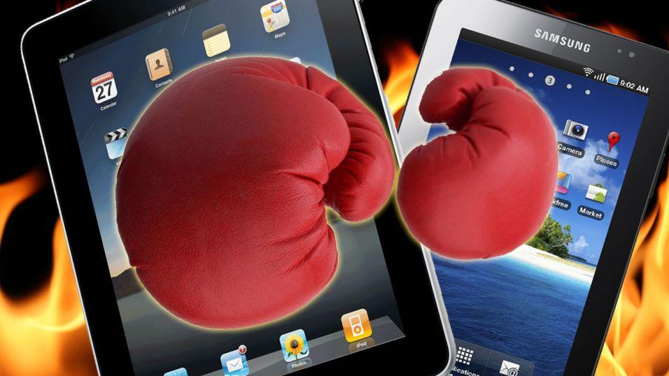 DUELL: iPad vs Galaxy Tab