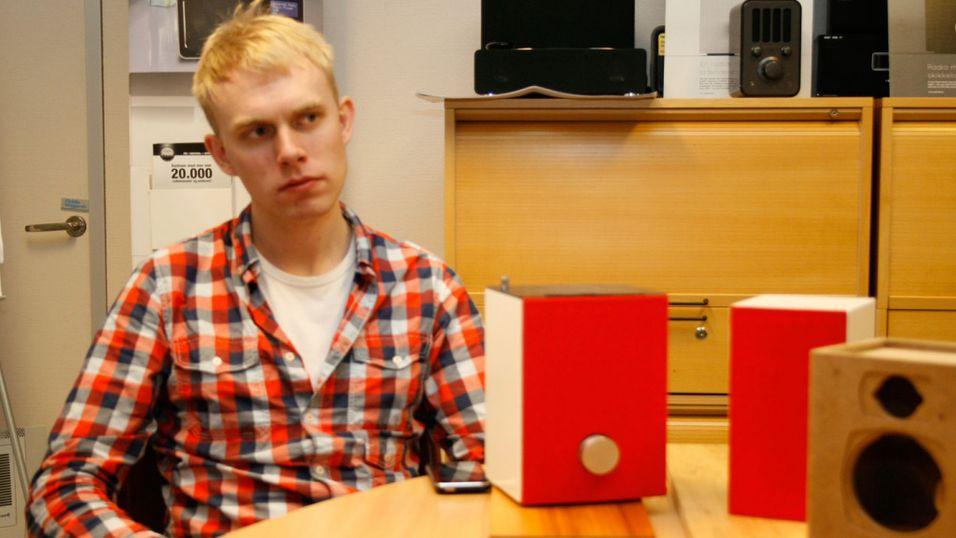 Norskutviklet designradio med gromlyd