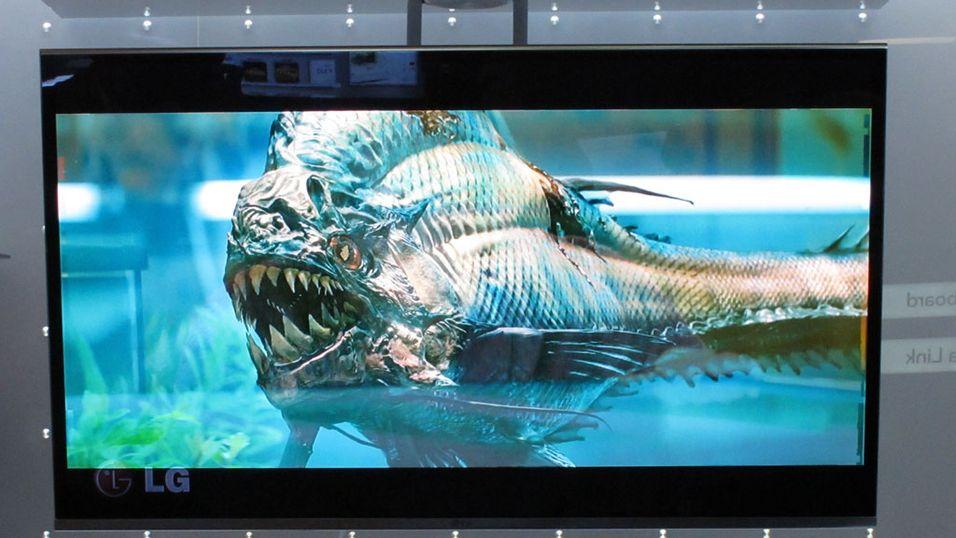 Helt rå OLED-TV