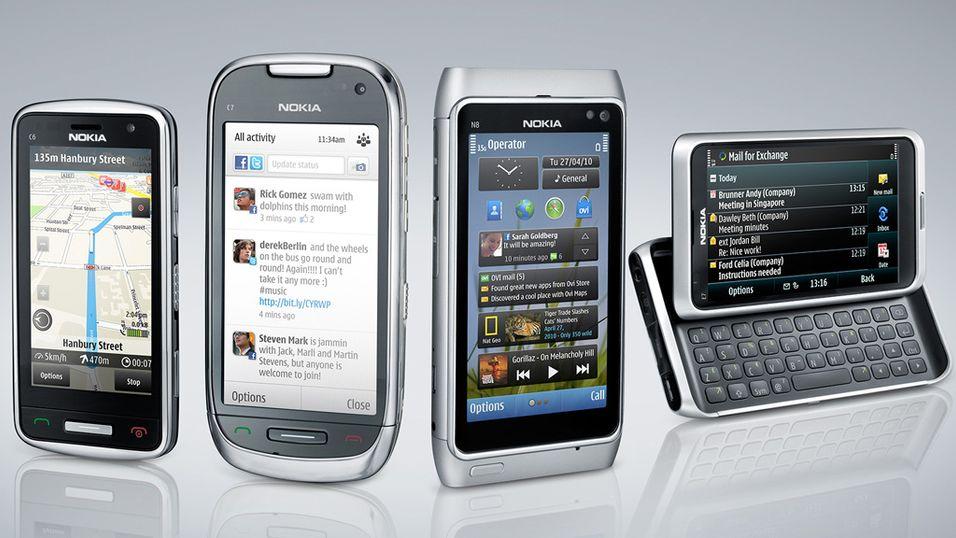 Tre nye fra Nokia