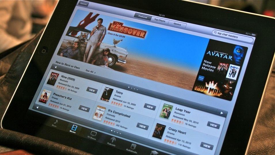 Får pensum på iPad