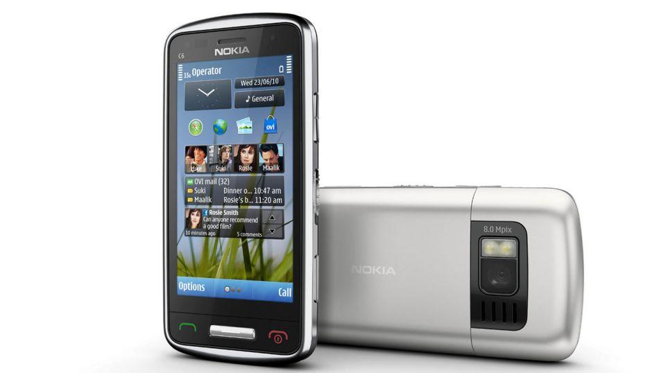 SNIKTITT: Nokia C6