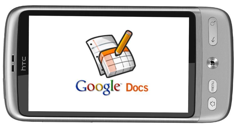 Android og iPad får Google Docs