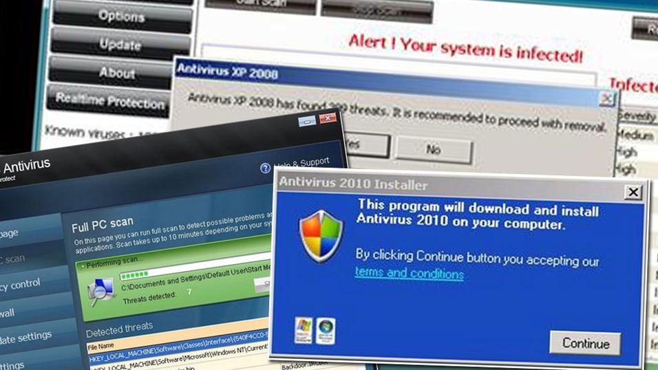 20 antivirus testet