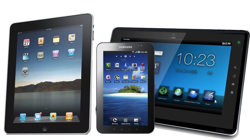 iPad vs Folio vs Galaxy Tab