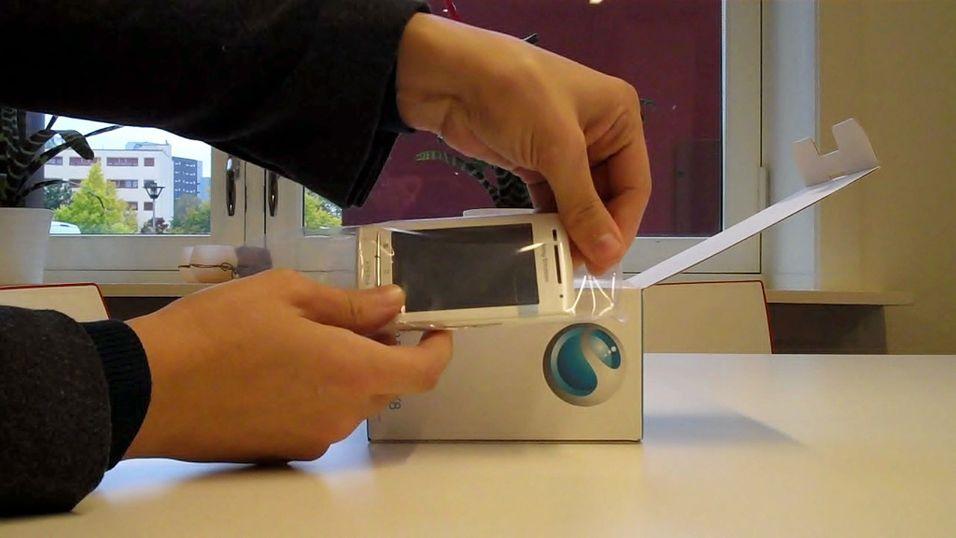 Vi pakker ut Sony Ericsson X8