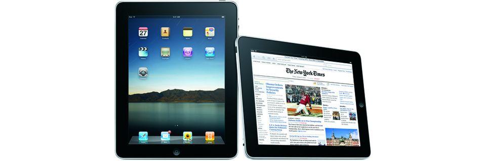- Apple har allerede en 7-tommers iPad