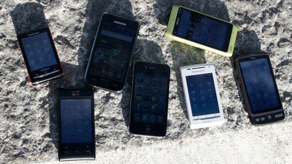 mobiltelefon best i test privat massasje bergen