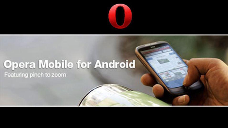 Ny Opera til Android-mobiler