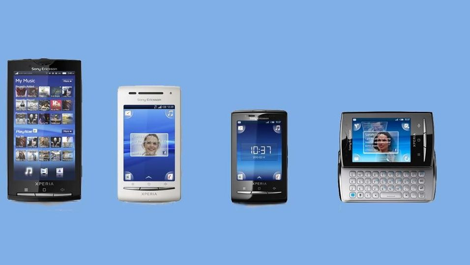 TEST: Sony Ericsson X10, Mini, Mini Pro og X8