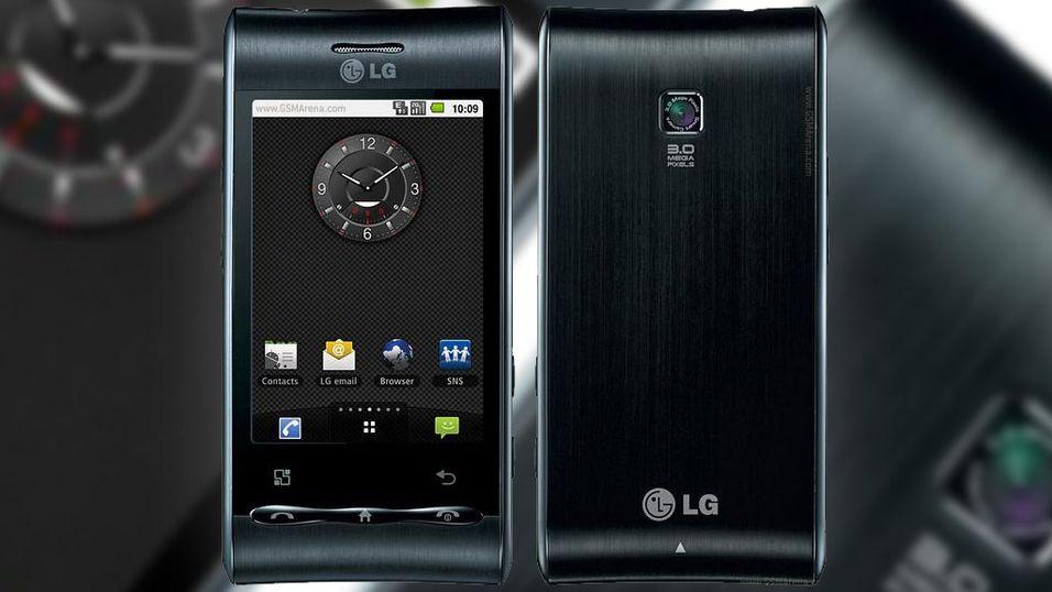 TEST: LG GT540