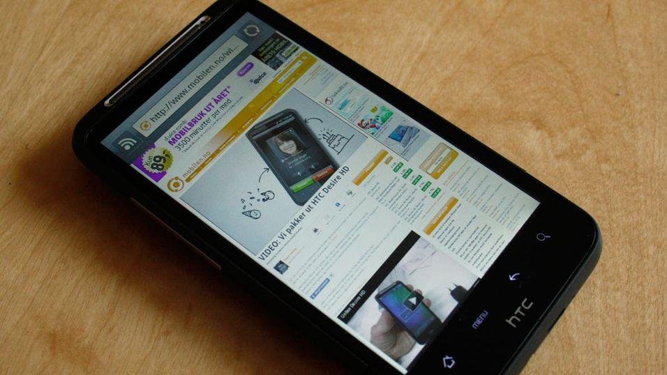 TEST: HTC Desire HD