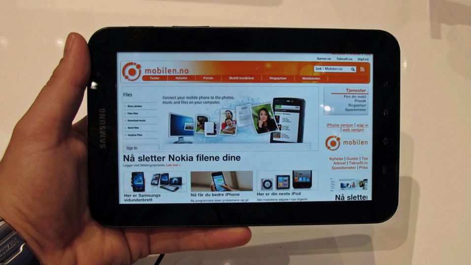 VIDEO: Vi pakker ut Samsung Galaxy Tab