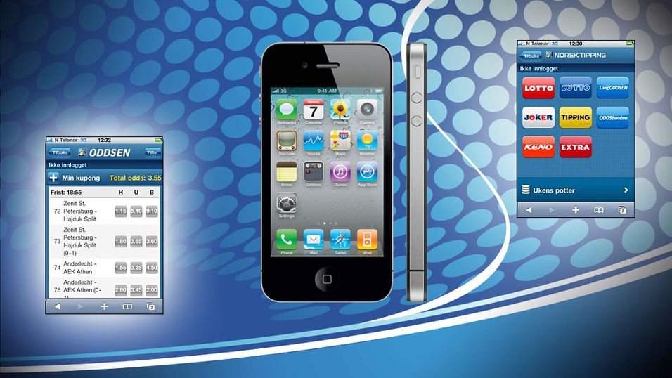 Spill Lotto på iPhone i helgen