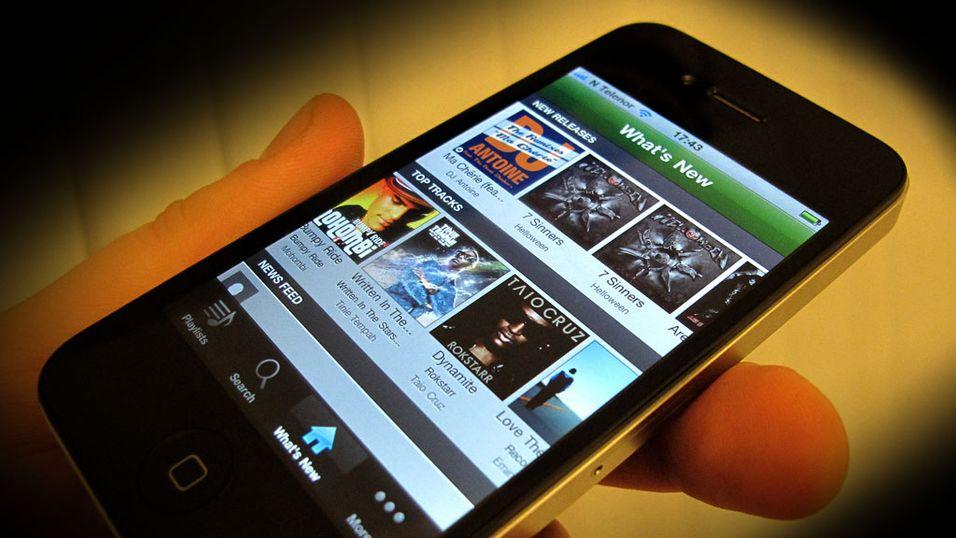 Slik får du Spotify på mobilen