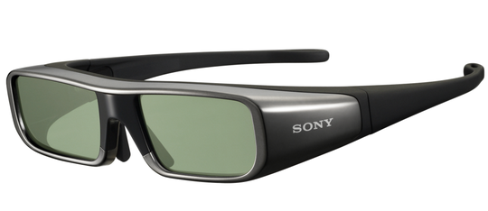 Aktive 3D-briller