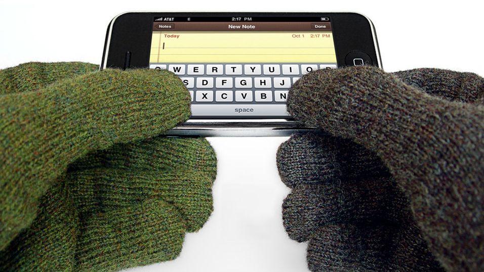 Ny mobilskjerm lar deg beholde hanskene på