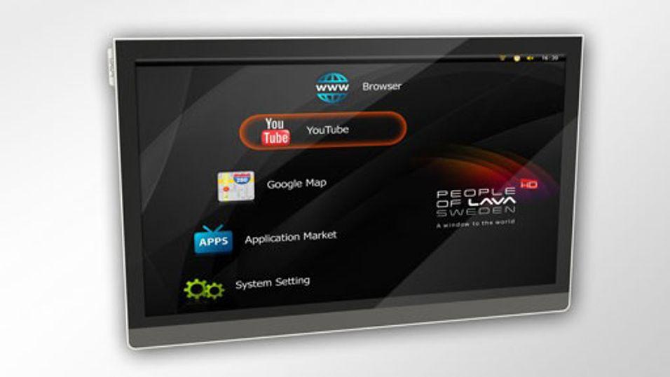 Verdens første Android-TV i salg