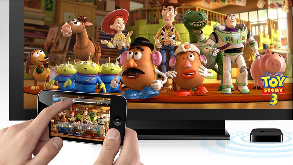 Trådløs video fra iPhone, iPod og iPad