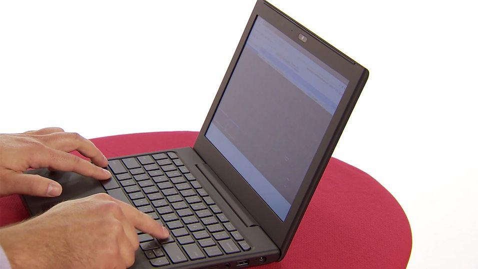 Google lanserer sin første laptop