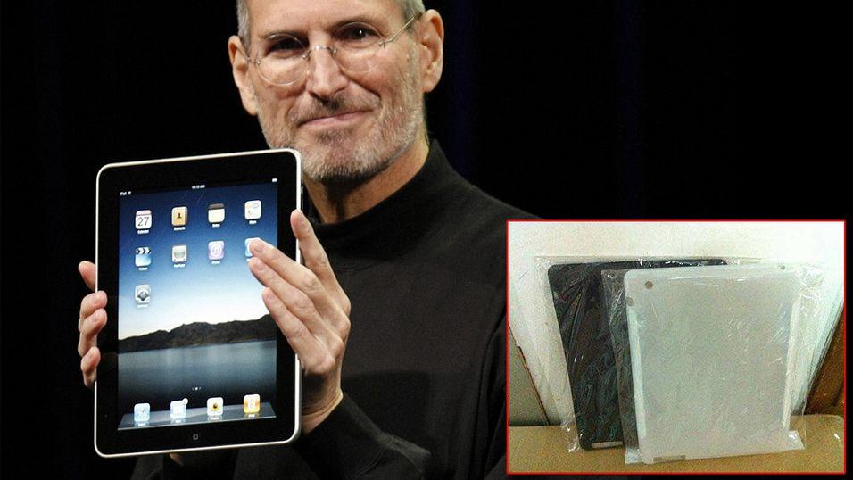 iPad 2 kan være avslørt av deksler