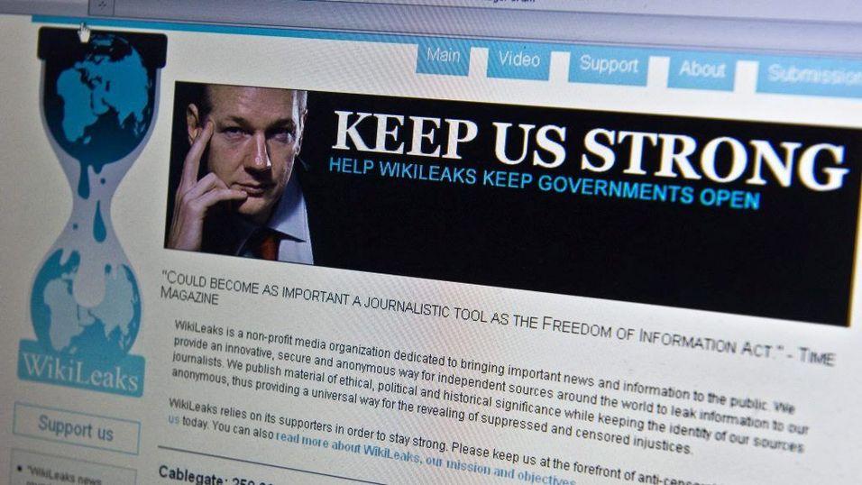 WikiLeaks-hackere truer Ap