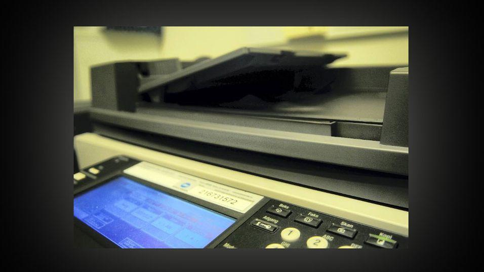 Til angrep på faksen