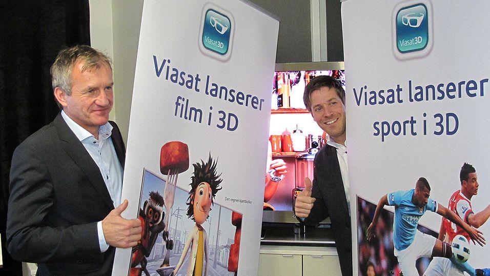 Viasat skal sende fotball i 3D