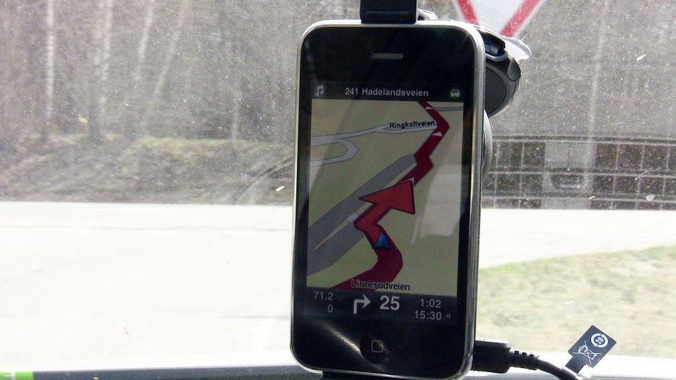 TomTom lar deg endre iPhone-kart selv