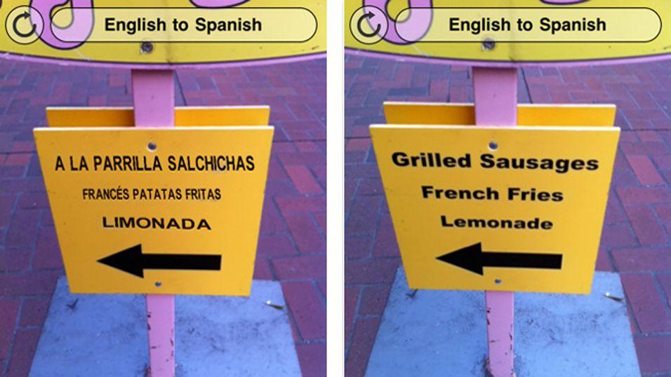 Word Lens oversetter for deg