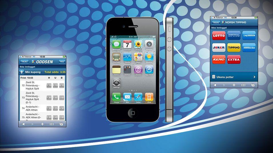 Norsk Tipping hyller iPhone-brukerne