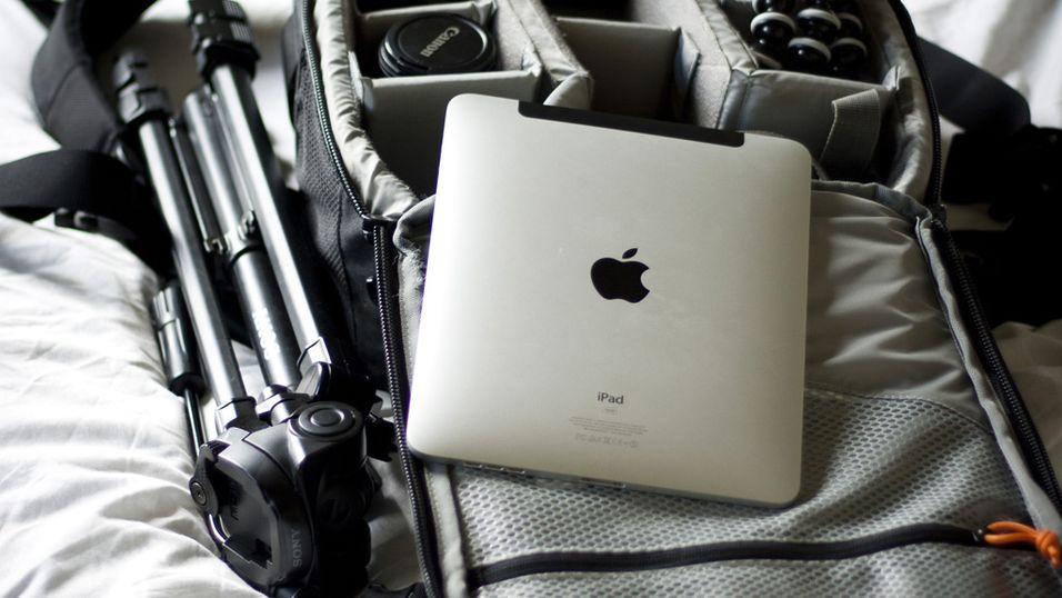 Rediger bilder på iPad