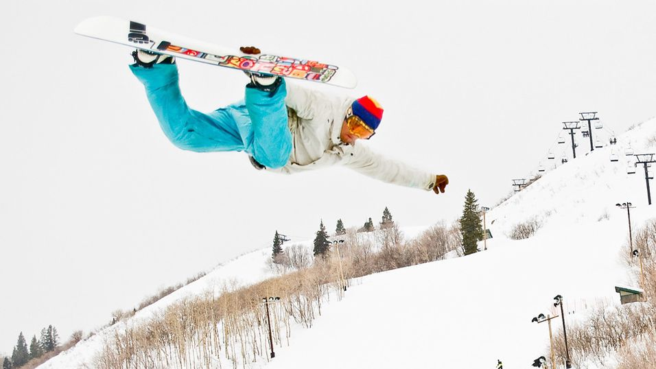 På ski med iPhone