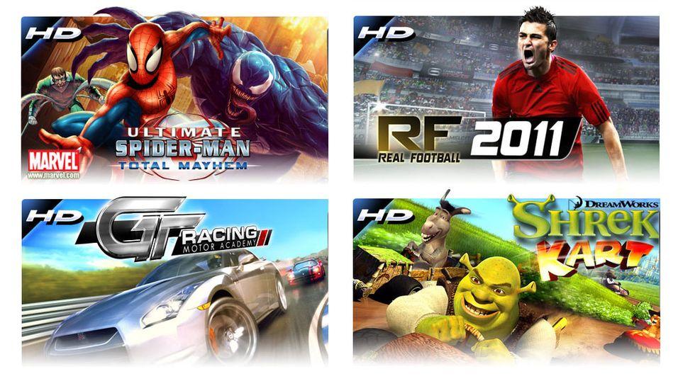 10 nye HD-spill til Android