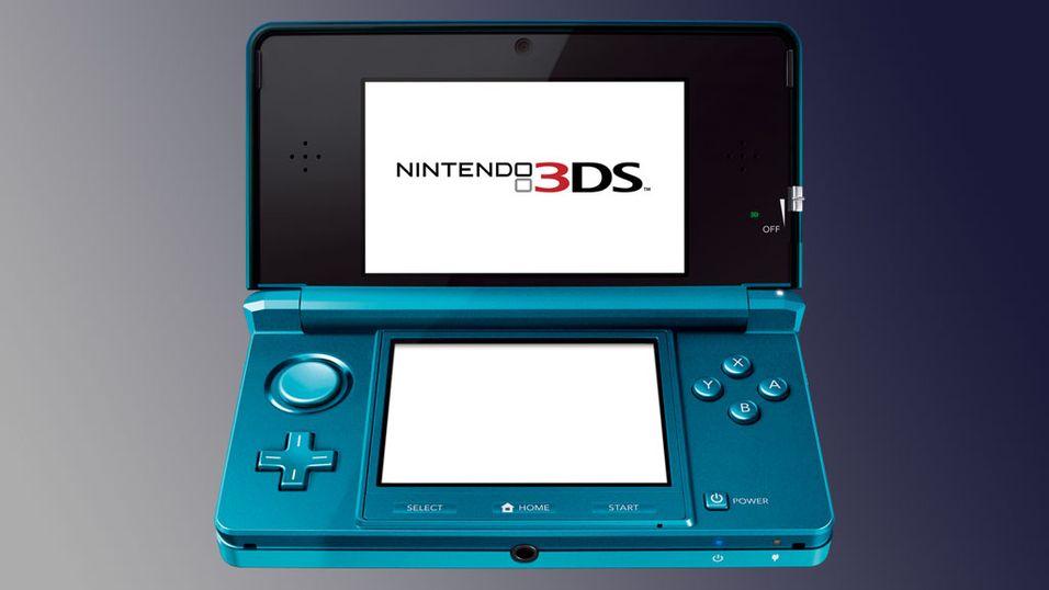 Nintendo 3DS blir ikke barnemat