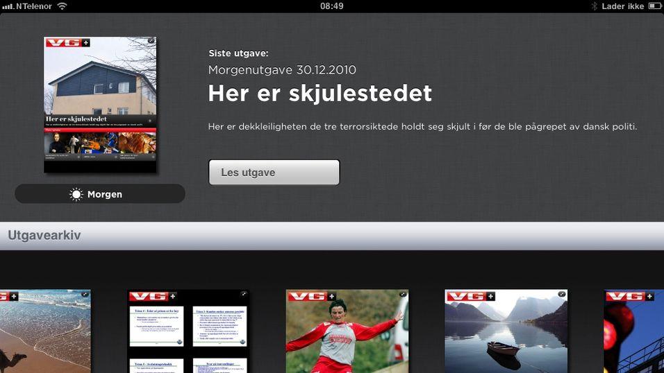 Opplaget for iPad-magasiner stuper