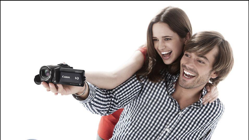 Storslipp av videokameraer fra Canon