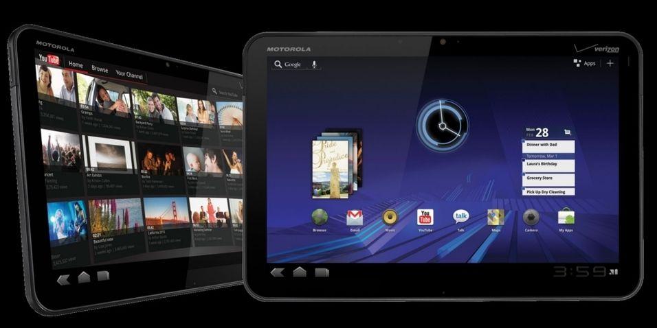 Store forventninger til Motorolas nettbrett