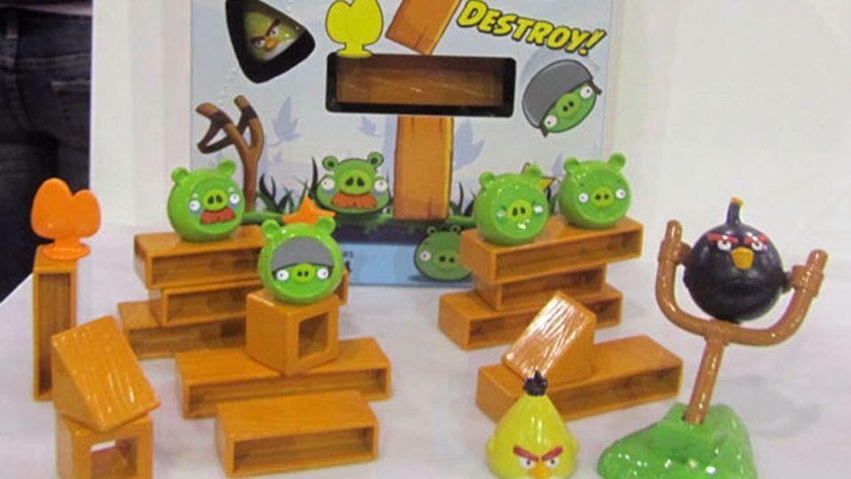 Angry Birds blir brettspill